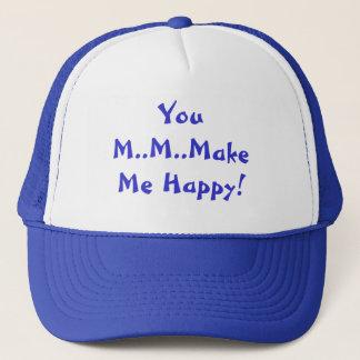 Usted M.M.Make yo gorra feliz