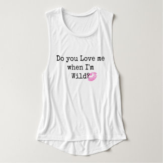 Usted me ama camiseta del músculo
