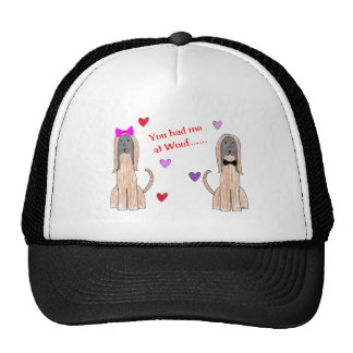 Usted me tenía en el gorra del afgano del tejido
