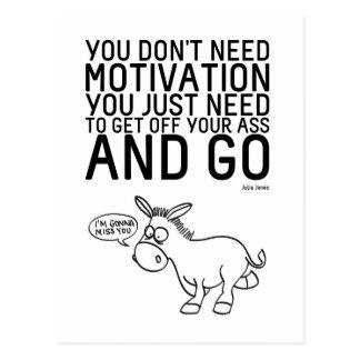 Usted no necesita la motivación postal
