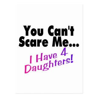 Usted no puede asustarme que tengo 4 hijas postal