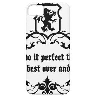 Usted no puede hacerlo cita medieval perfecta funda para iPhone SE/5/5s
