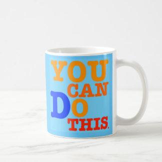 Usted puede hacer esta taza