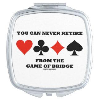 Usted puede nunca retirarse de The Game del puente Espejo Maquillaje