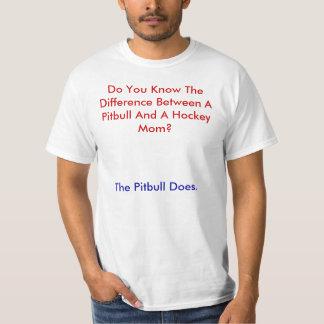 Usted sabe la diferencia entre un Pitbull… Camiseta