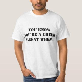 USTED SABE que USTED es UN PADRE de la ALEGRÍA Camisetas