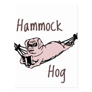 ¿Usted sabe un cerdo de la hamaca? Postal