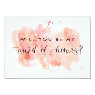 Usted será mi criada de la tarjeta del honor
