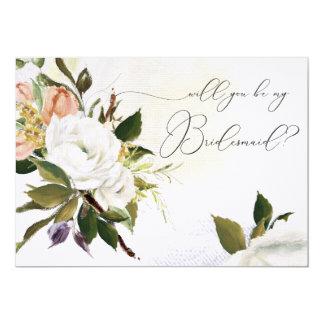 Usted será mi tarjeta de la criada de las novias