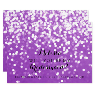 Usted será mi tarjeta de la dama de honor - el