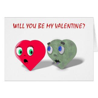 Usted será mi tarjeta del día de San Valentín