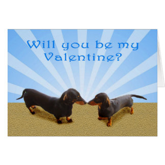 Usted será mi tarjeta del día de San Valentín, dos