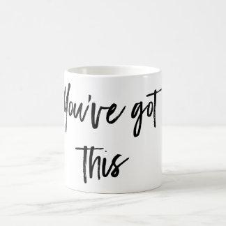 Usted tiene esta taza de café