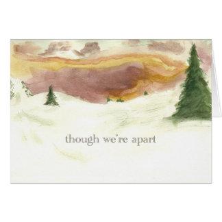 usted tiene mi corazón tarjeta pequeña