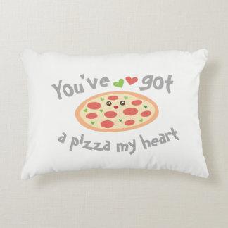 Usted tiene una pizza mi retruécano divertido cojín decorativo