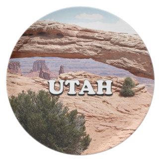 Utah: Arco del Mesa, parque nacional de Plato De Comida