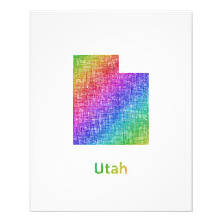 Utah Folleto 11,4 X 14,2 Cm