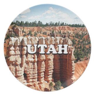 Utah: Parque nacional del barranco de Bryce Plato