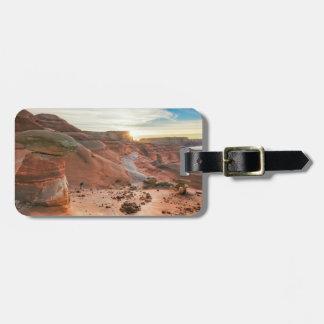 Utah, zona de recreo nacional 3 de Glen Canyon Etiqueta Para Maleta