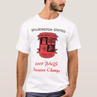UTD FC - 2005 campeones de Wilm (blancos) Camiseta