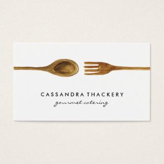 Utensilios de la cocina el | que cocina y que tarjeta de negocios