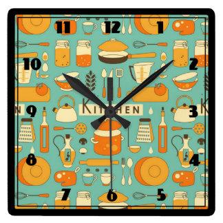 Relojes de pared modernos la cocina for Utensilios modernos