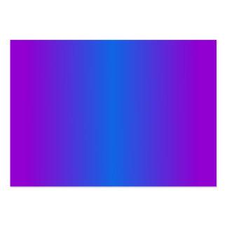 V pendiente bilinearia - violeta y azul tarjetas de visita grandes