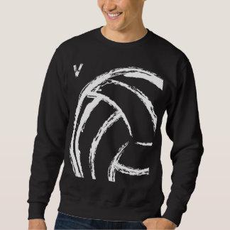 V voleibol (frente y parte posterior) - camiseta