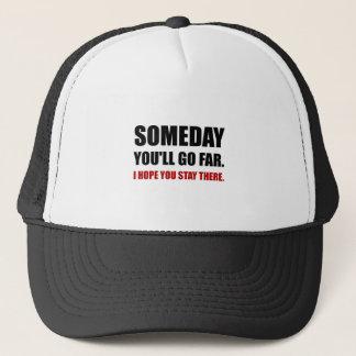Va algún día la estancia lejana allí gorra de camionero