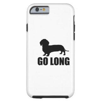 Va Dacshund largo Funda De iPhone 6 Tough