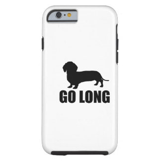 Va Dacshund largo Funda Para iPhone 6 Tough