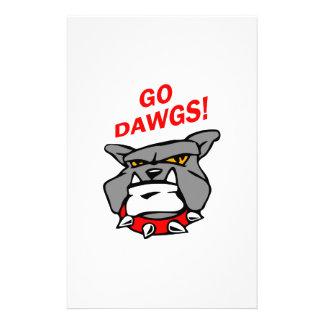 ¡Va Dawgs! Papelería Personalizada