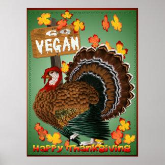 Va el poster de la Vegano-Acción de gracias