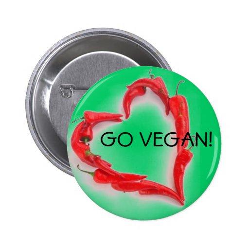¡Va el vegano! Pin