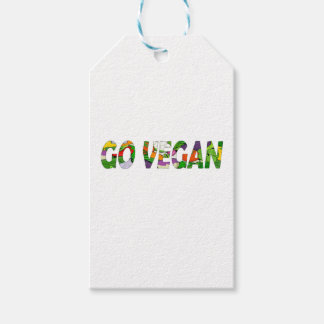 Va el vegano etiquetas para regalos