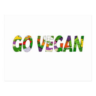 Va el vegano postal