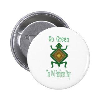 Va el verde chapa redonda de 5 cm