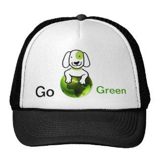 Va el verde gorros bordados