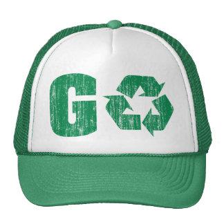Va el verde recicla gorro