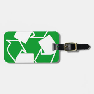 va el verde reduce recicla etiquetas para maletas