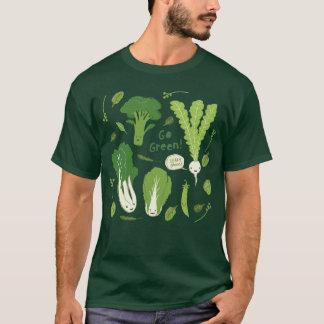 ¡Va el verde! (Verde frondoso!) amigos felices del Camiseta