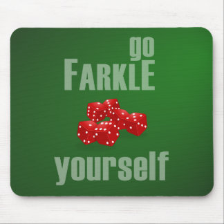 Va Farkle usted mismo Alfombrilla De Ratón