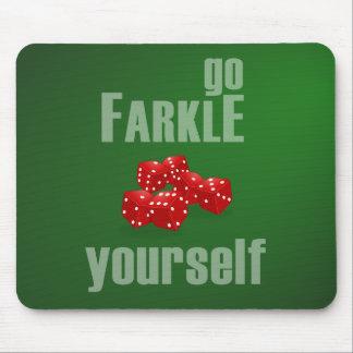 Va Farkle usted mismo Alfombrilla De Ratones