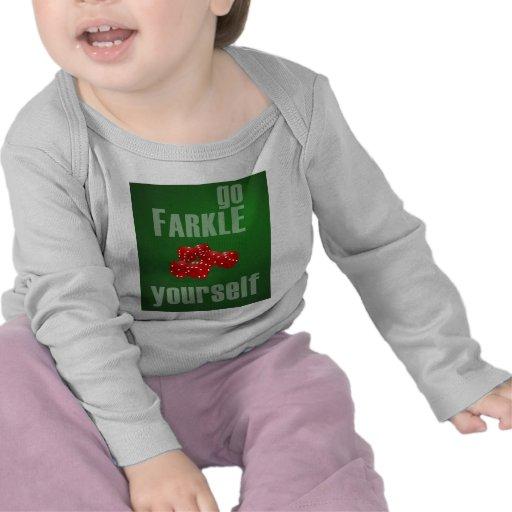 Va Farkle usted mismo Camiseta