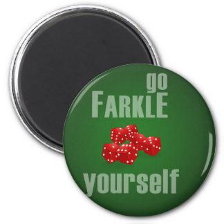Va Farkle usted mismo Imán Redondo 5 Cm