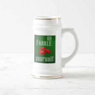 Va Farkle usted mismo Jarra De Cerveza