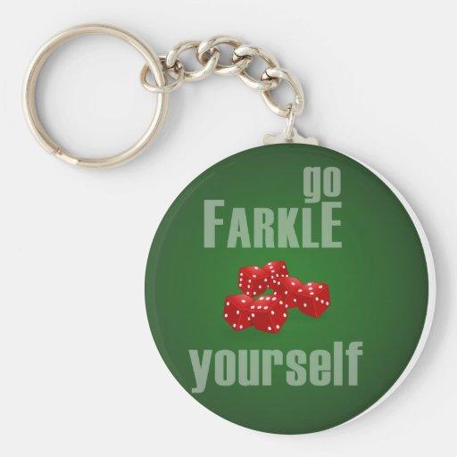 Va Farkle usted mismo Llavero