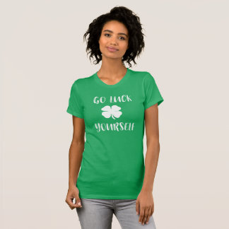Va la camiseta irlandesa de las mujeres del día