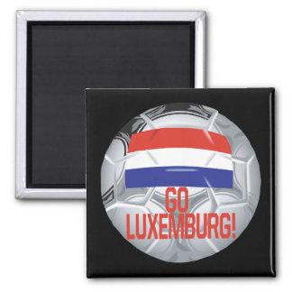Va Luxemburgo Imán Cuadrado