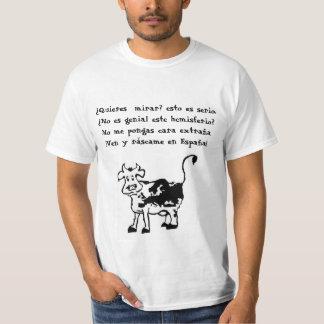 Vaca bromista camiseta